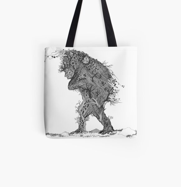 Mother of Ivy All Over Print Tote Bag