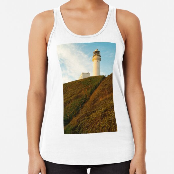 Flamborough Head Lighthouse,  Racerback Tank Top