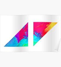 AVICII - AV Stories Design Poster