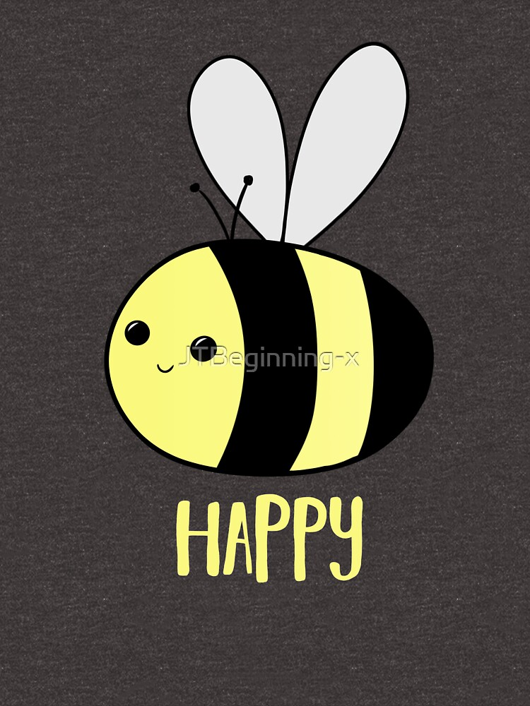 BEE Happy - Bee Pun  by JTBeginning-x