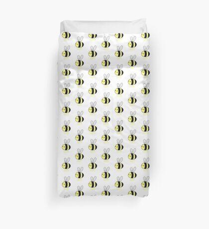 BEE Happy - Bee Pun  Duvet Cover