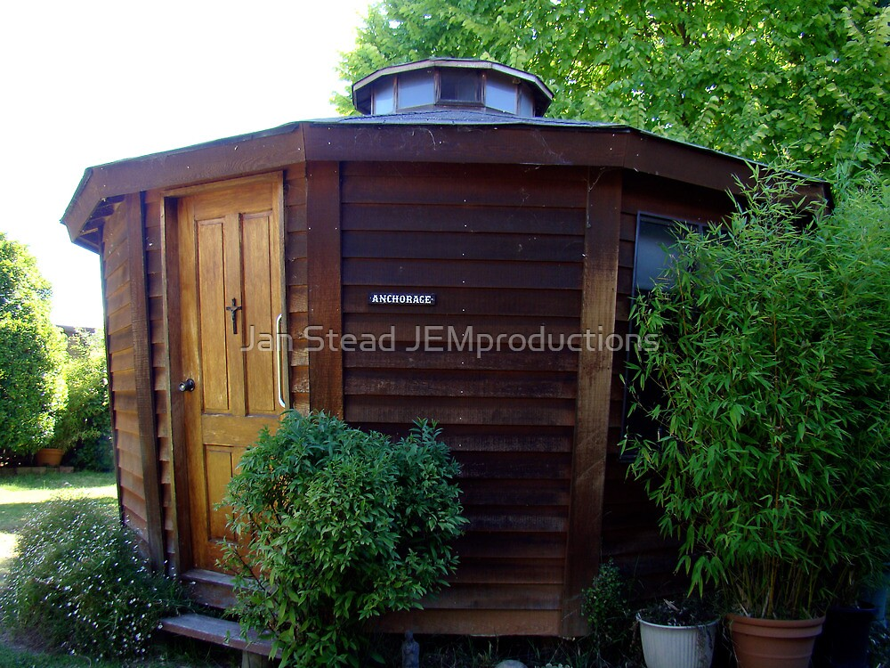A Yurt in the Yard by Jan Stead JEMproductions