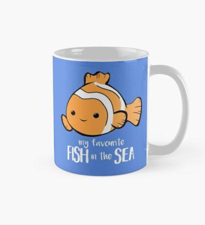 My favourite FISH in the sea - Pun - Anniversary - Birthday - Fish Pun - Clownfish Mug