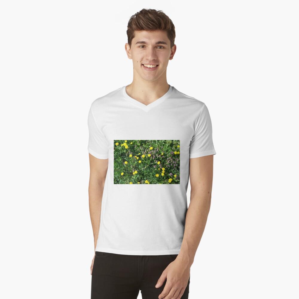Dandelions V-Neck T-Shirt