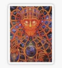 TOOL band original trippy art Sticker