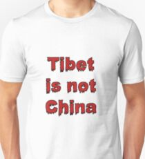 Tibet is not China Slim Fit T-Shirt
