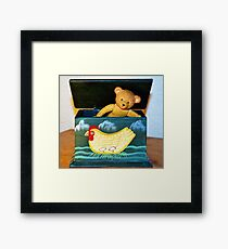 Jack in the Box Framed Print