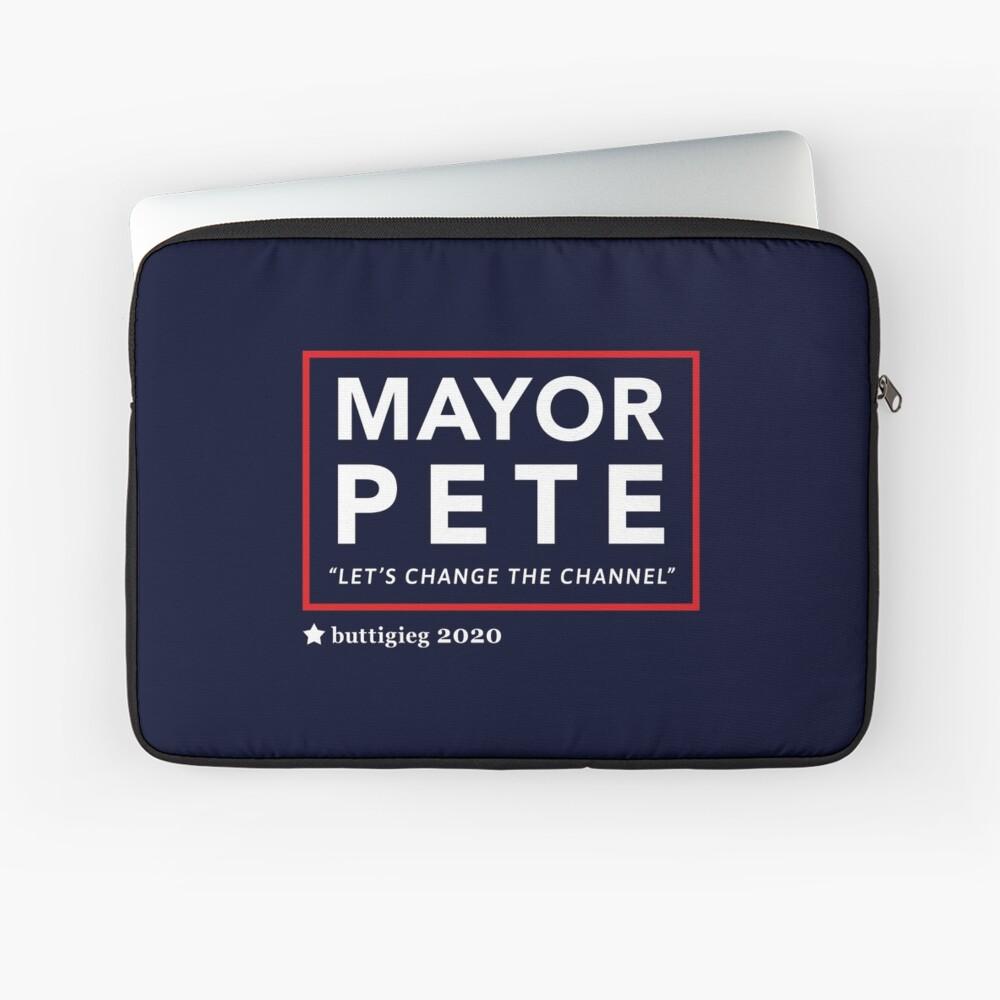Bürgermeister Pete Buttigieg 2020 Laptoptasche