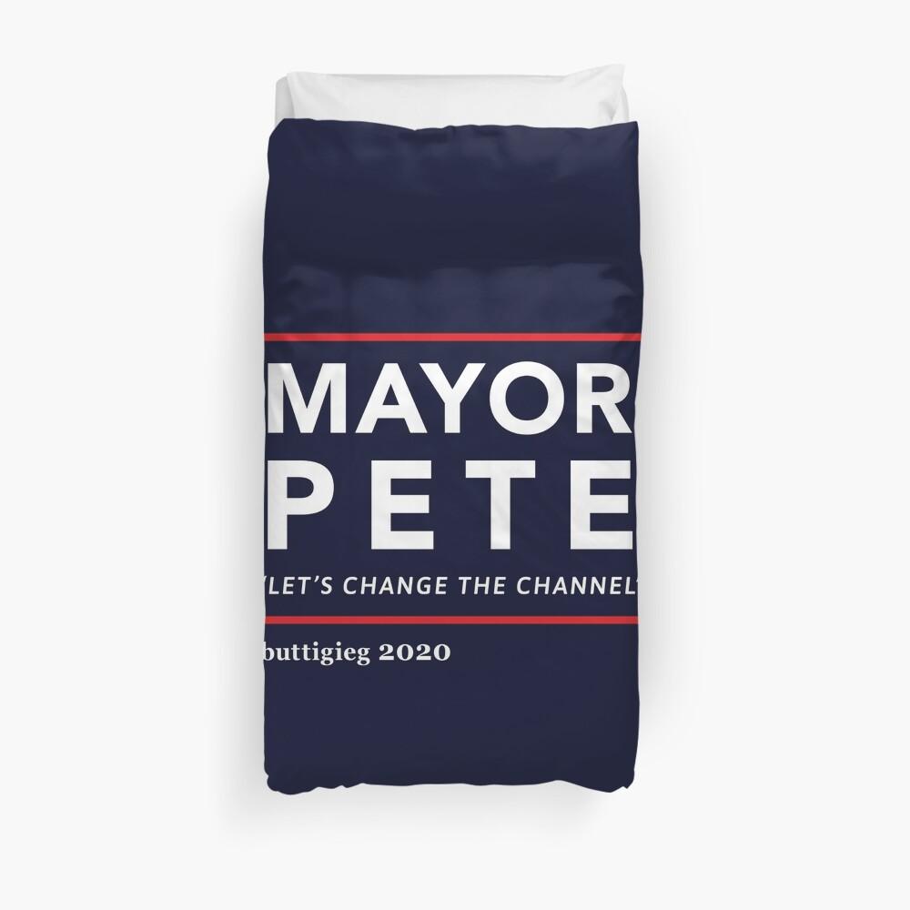 Bürgermeister Pete Buttigieg 2020 Bettbezug