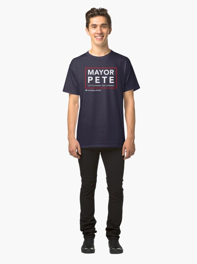 Alternative Ansicht von Bürgermeister Pete Buttigieg 2020 Classic T-Shirt