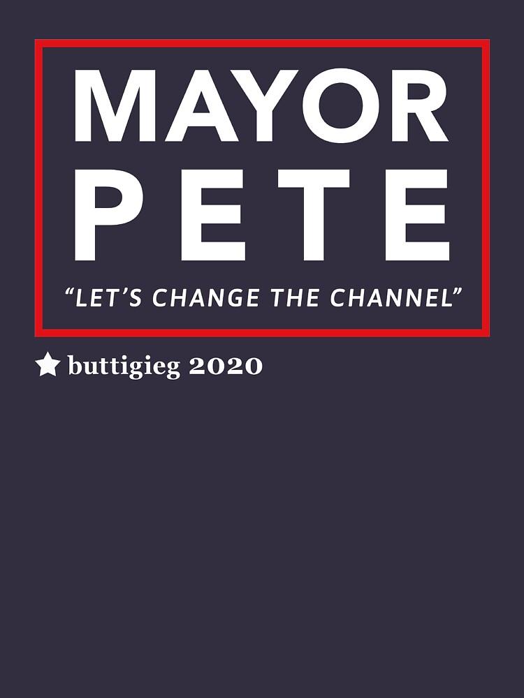Bürgermeister Pete Buttigieg 2020 von BootsBoots