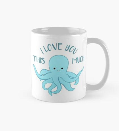 OCTOPUS Funny Pun - Funny Valentines Day Card - Anniversary Pun Mug
