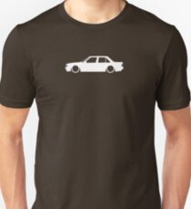E30 German sedan Unisex T-Shirt