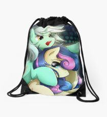 Bonbon & Lyra Drawstring Bag