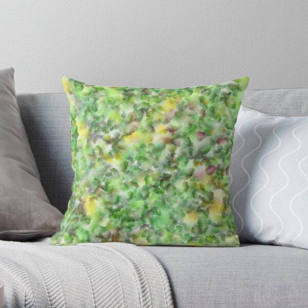 Texture.Digital painting. Throw Pillow