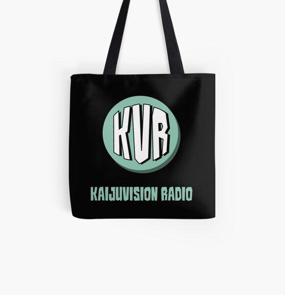 KVR Logo All Over Print Tote Bag