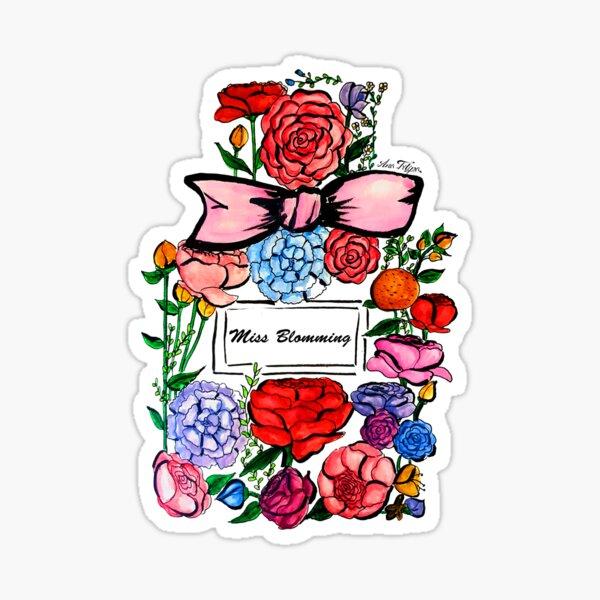 Miss Blomming Sticker
