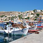 Yialos harbour, Symi by David Fowler
