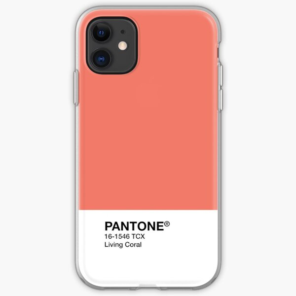 Color of the year 2019 Pantone Living Coral iPhone Soft Case