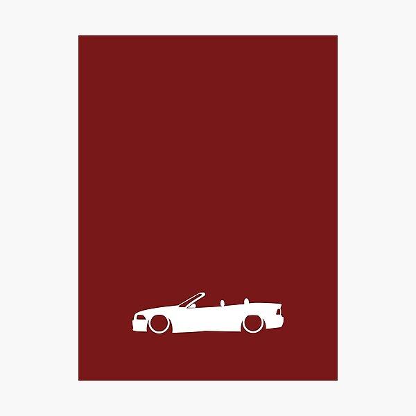 E36 German Cabrio Photographic Print
