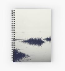 Fog over the river Spiral Notebook