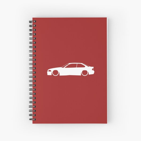 E36 German Coupe Spiral Notebook