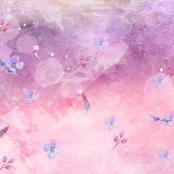 purple pink shades by MallsD