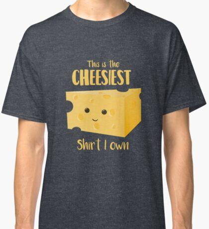 Cheesy Shirt - Cheesy Gift Present Classic T-Shirt