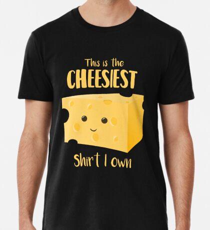 Cheesy Shirt - Cheesy Gift Present Premium T-Shirt