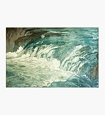 Rapids by Yoshida Hiroshi Photographic Print