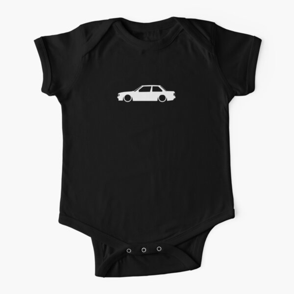 E30 German Retro coupe Short Sleeve Baby One-Piece