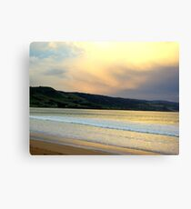 Victorian Sunset, Great Ocean Road Canvas Print