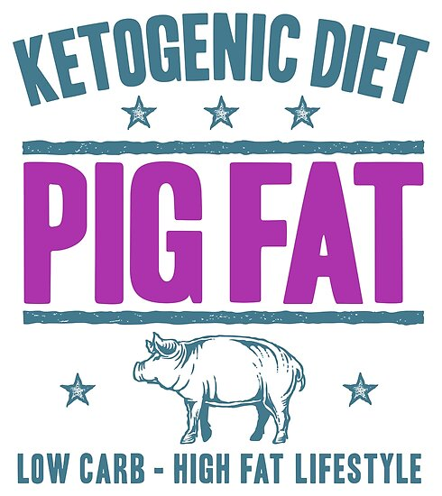 PIG FAT - Ketogenic Diet And Ketosis Inspiration