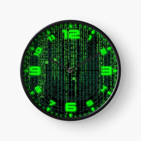 Caught In The Matrix Clock Clock