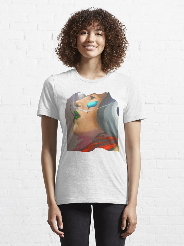 Alternative Ansicht von Pilotin Street Art Essential T-Shirt