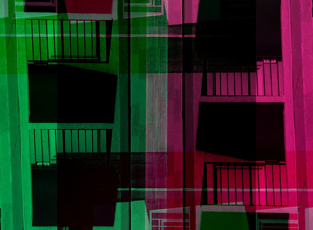 Romeos modern Abstract by Elizabeth Rodriguez