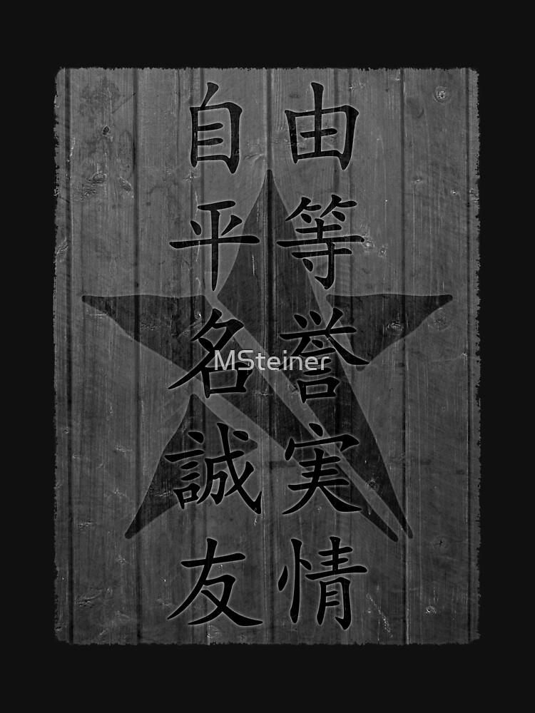 Engraved STR Logo & Ideals by MSteiner