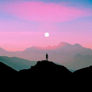 Purple Summer by taudalpoi