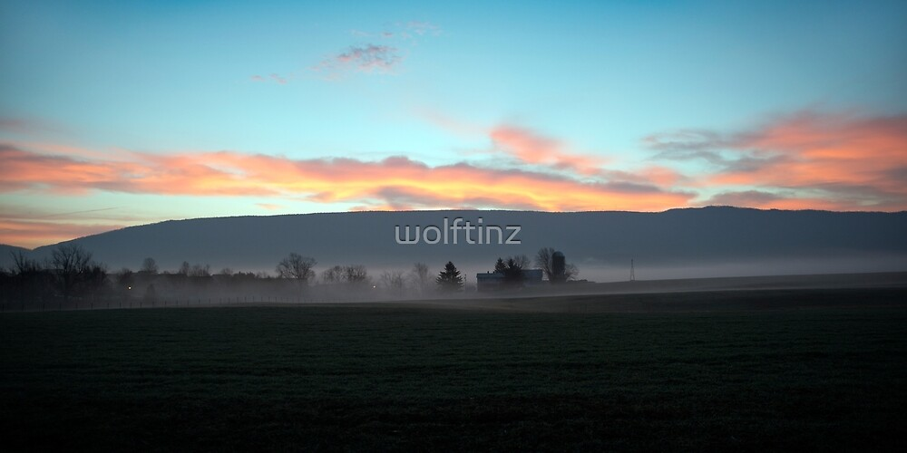 Blue Ridge Sunrise #2 by wolftinz