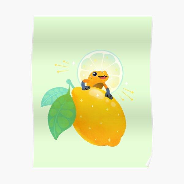 Golden poison lemon sherbet 1 Poster