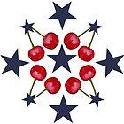 Oh so sehr Kirschen und Sterne von Ccaskeymorgan