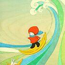 Banana Surfing! by naokosstoop