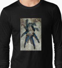 Cobalt Blue Tarantula Long Sleeve T-Shirt