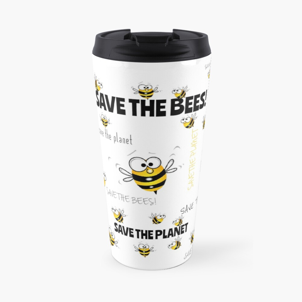 Save the Bees! Travel Mug