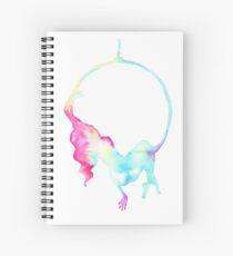 Aerial hoop - aerialist  Spiral Notebook