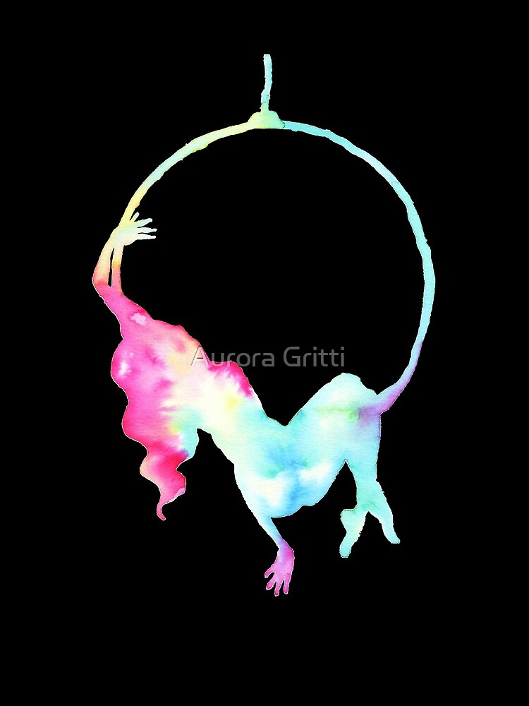 Aerial hoop - aerialist  by balgrittella
