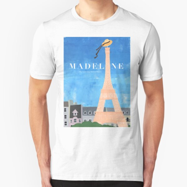 Madeline in Paris  Slim Fit T-Shirt