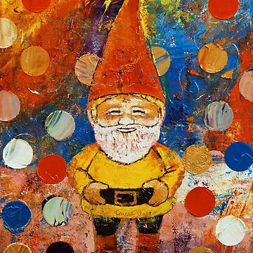 Psychedelic Gnome by michaelcreese