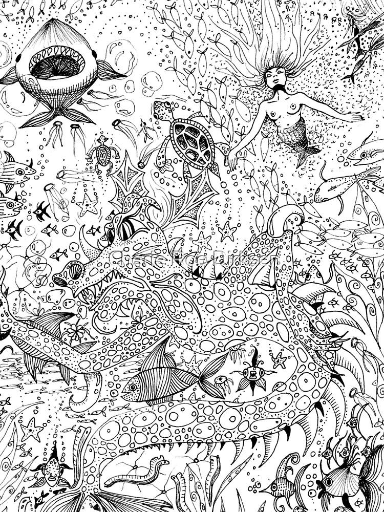 Watery Wonder World by cheriedirksen