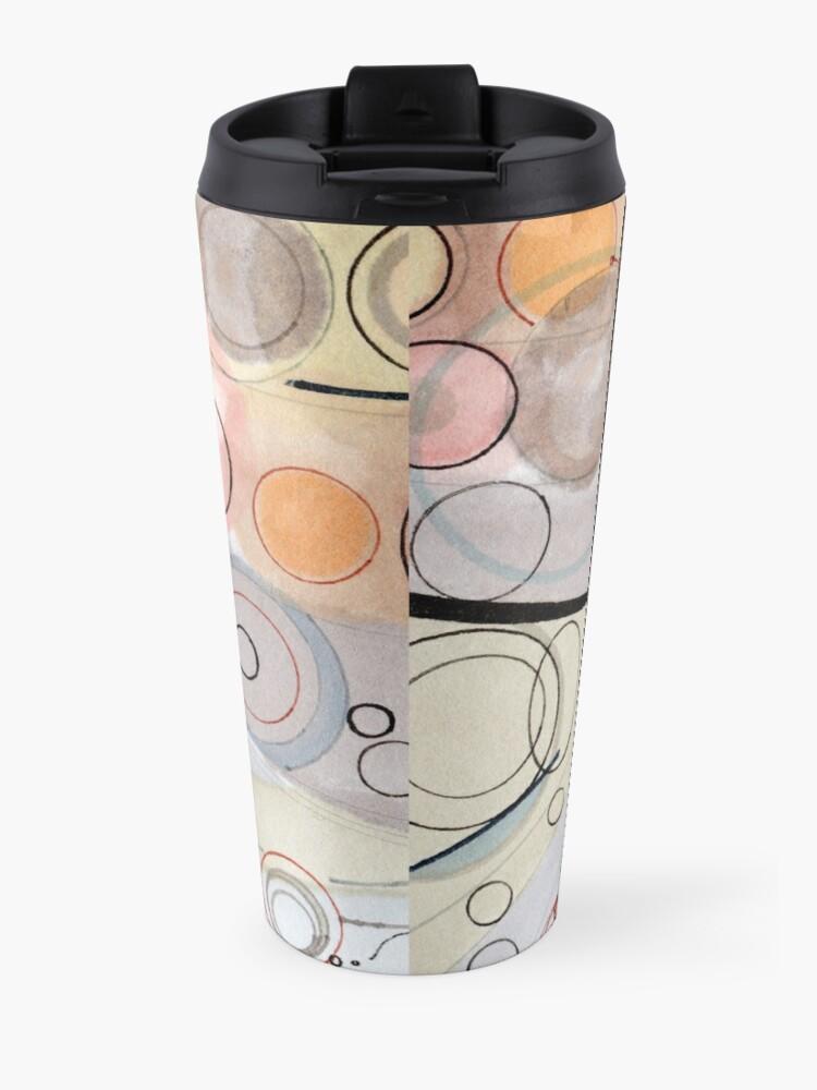 Alternate view of Ultra Light - ink drawing Travel Mug